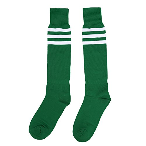SODIAL(R) Alt Schule Knie hoch sportlich Sport Rohr Socke (Bekleidung Schienbeinschützer)