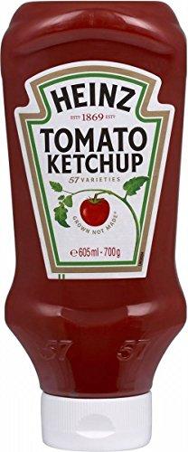 Heinz Tomato Ketchup - Dall'Alto Verso Il Basso (700g)