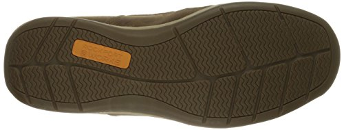 Rockport Work Mens Sailing Club RK6737 Slip On Boat Shoe Brown
