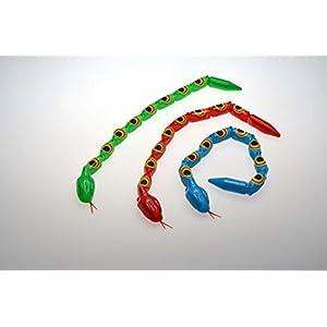 10 Gelenkschlangen Schlange Reptilien Mitgebsel Kindergeburtstag