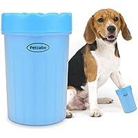 Petcabe Dog Paw Cleaner Pet Paw Reinigungsbürste Mudbuster Portable Hund Pfote Reiniger Pet Reinigung Pinsel Tasse Hund Fußreiniger (Medium)