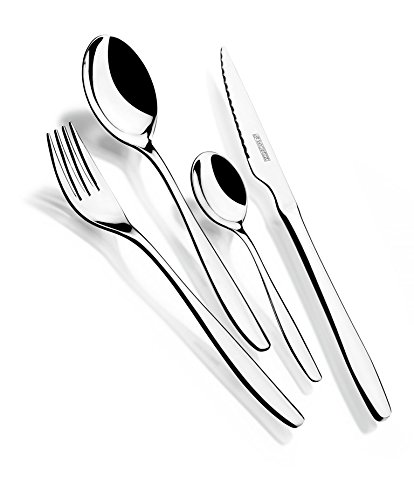 Monix-Zurich-Mnagre-24-pices-couverts-en-acier-inoxydable-1810-avec-couteau–steak-et-crin-noyer
