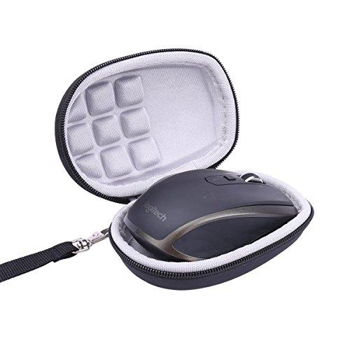 co2CREA Étui de Voyage Rigide Housse Cas pour Logitech MX Anywhere 2S / 2/1 Souris sans Fil/Souris Bluetooth