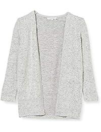 NAME IT Nmfvicti LS Knit Card L Suéter cárdigan para Niñas