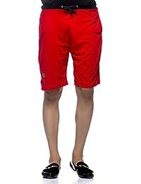 Demokrazy men's Red shorts