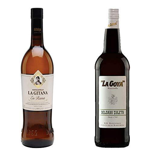 Manzanilla La Gitana En Rama Y Manzanilla La Goya - D. O. Manzanilla De Sanlúcar De Barrameda - 2 Botellas De 750 Ml