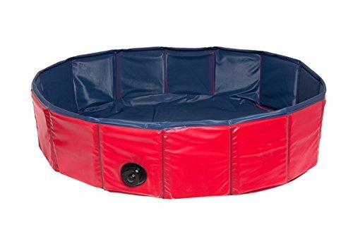 Karlie Hunde-Pool – Ø 160 cm in rot/blau - 2