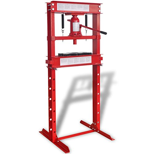 Preisvergleich Produktbild vidaXL Werkstattpresse bis 20 Tonnen Lagerpresse Werkstatt Presse Dornpresse manuell