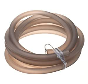 Dinair Air Hose 1.82m / 6 ft. Smoke Silicon for replacement