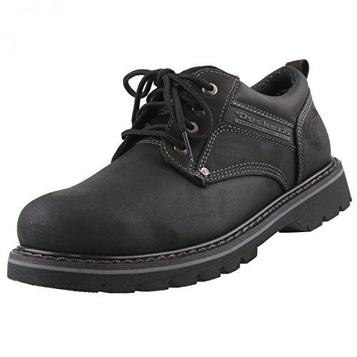 dockers-chaussures-de-ville-a-lacets-pour-homme-noir-noir-41-eu