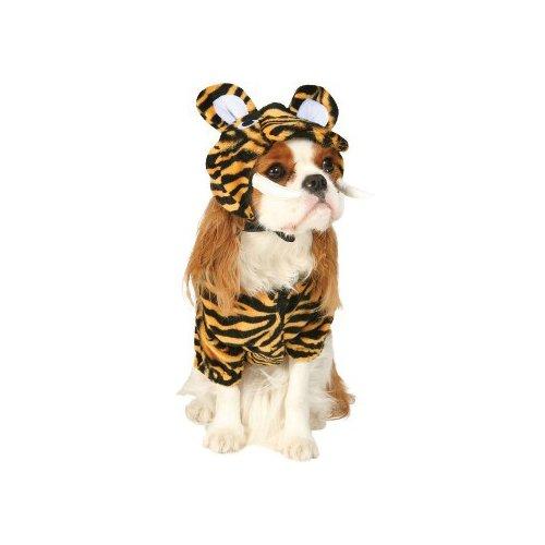 Kostüm Secrets Cinema - Hundekostüm Sabertooth Tiger, Größe XS
