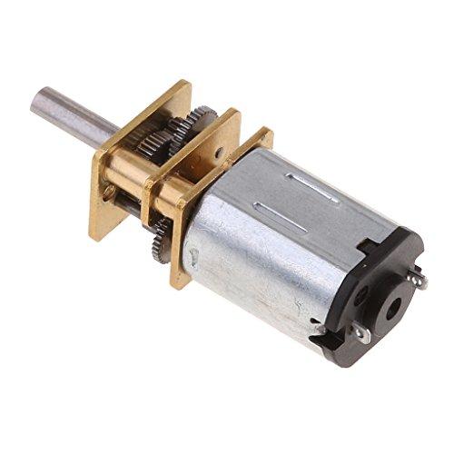 D DOLITY Mini DC 12V Getriebemoto Ersatz für beschädigtes DC Gear Motor Zahnrad auf der Maschine - 3000 U/min