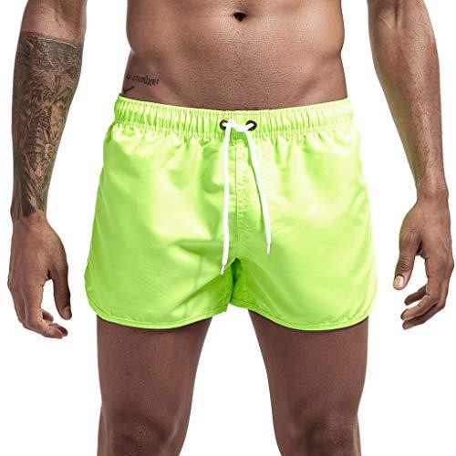 Short Hommes Mode ÉTé Bermudas Pantalons De Plage Taille éLastiquéE Maillot De Bain Boxer Pas Cher Mode Casual Surfing Sho