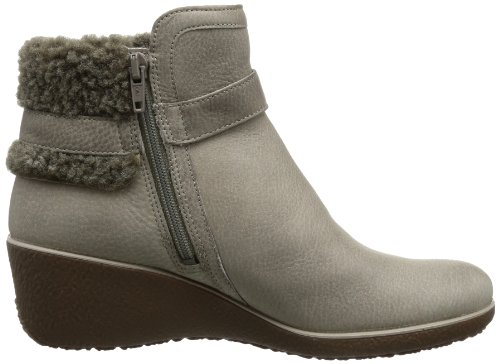 Ecco - Stylische Stivaletti Shiver Wedge von Ecco Grigio (Grau (MOON ROCK/COCOA BROWN-WARM GREY)