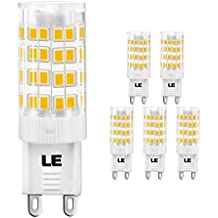 LE Bombillas LED G9 5W = 50W
