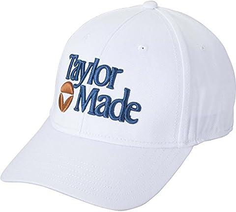 TaylorMade Golf 2015 TM 1983 Adjustable Golf Cap/Hat (White) - White Golf Cap