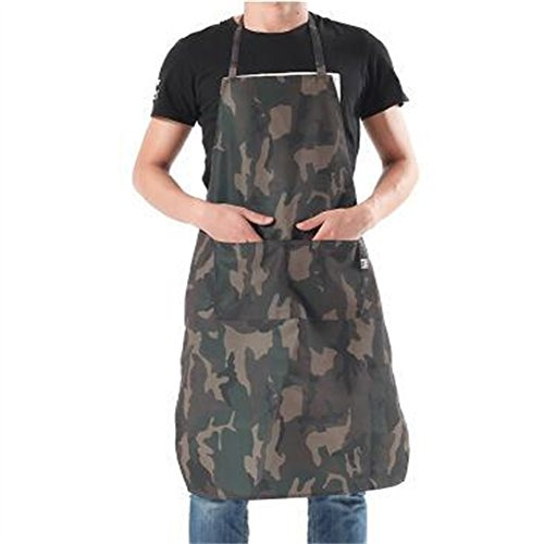 Hense Unisex Waterproof Oxford Fabric Workshop Apron For Kitchen ,Garden, Pottery, Craft Workshop, Garage, Woodworking and More Activities(HSW-056)