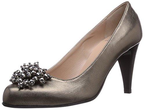 EDIANA Femme Couvert Gris à Talons Diavolezza Chaussures Pieds du Avant Gris FAdwq8
