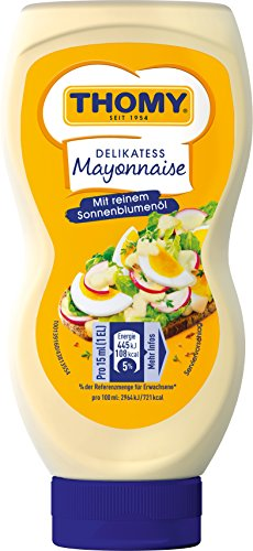 Thomy Delikatess Mayonnaise, 8er Pack (8 x 225 ml)