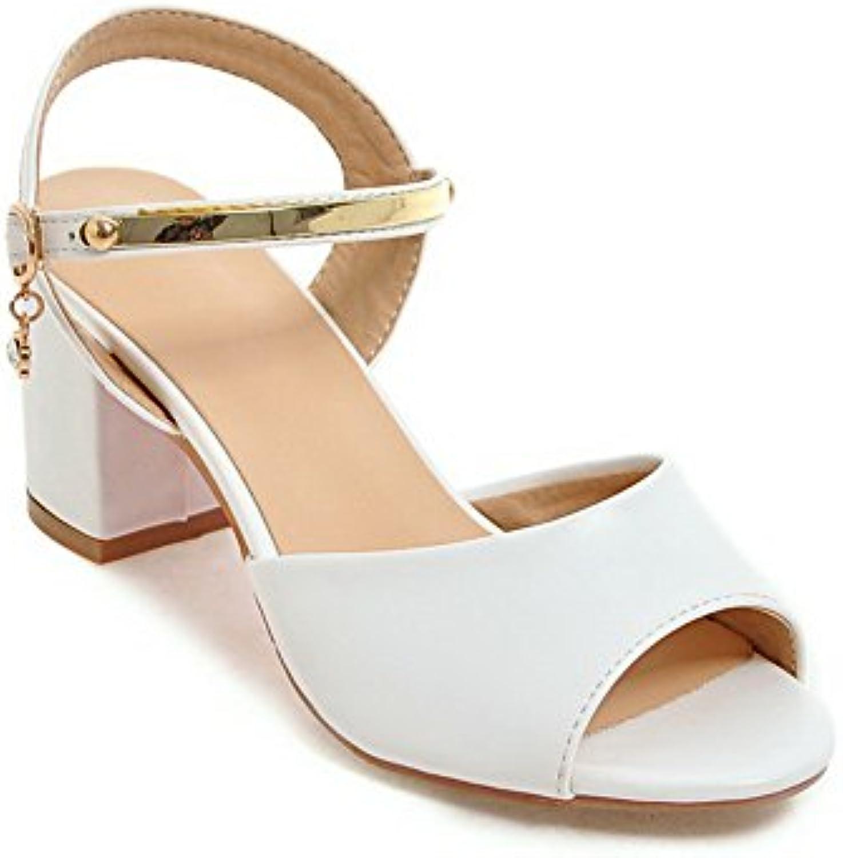 Ladola Ballerine Donna, Bianco (bianca), 35 EU | Eleganti  | Scolaro/Ragazze Scarpa