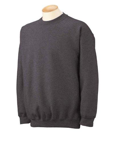 Gildan Men's Heavy Blend Crewneck Sweatshirt - X-Large - Charcoal - Gildan Crewneck Sweatshirt