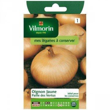 Vilmorin - Sachet graines Oignon jaune Paille des Vertus