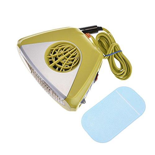 Stufetta / sbrinatore portatile elettronico per auto (12 v), per combattere l'appannamento e la formazione di ghiaccio e neve. funzione ventilatore