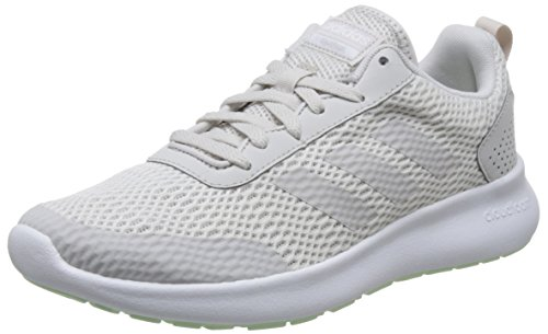 Laufschuhe Grau Adidas Frauen (adidas Damen CF Element Race Laufschuhe, Grau (Ftwr White/Grey One F17/Aero Green S18 Ftwr White/Grey One F17/Aero Green S18), 40 2/3 EU)