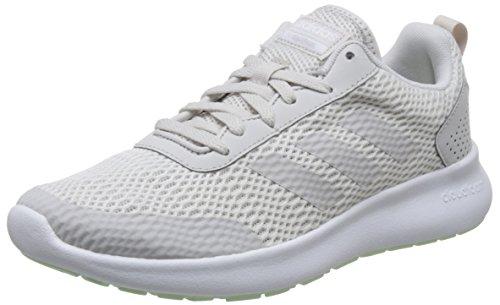 Adidas Frauen Grau Laufschuhe (adidas Damen CF Element Race Laufschuhe, Grau (Ftwr White/Grey One F17/Aero Green S18 Ftwr White/Grey One F17/Aero Green S18), 40 2/3 EU)