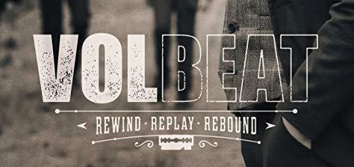 Volbeat Rewind Replay Rebound 2019 Autoaufkleber Sticker Aufkleber wasserfest