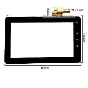 DYYSELLS - Panneau Verre Ecran Numérisateur Tactile Rechange pour Tablette PC Kurio 7 7 Pouces