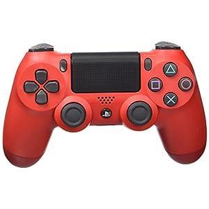 Sony DualShock 4Controller für Playstation 4,Schwarz, Rot –Zubehör für Videospiele (Controller für Playstation 4, analog/digital, D-Pad, Home-Knopf, Auswahl, Start, kabellos, USB 2.0)