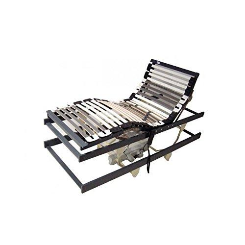 Perbix Senioren Rahmen bis 130 kg – Lattenrost/Bettlift m. Motor, 100×200 cm