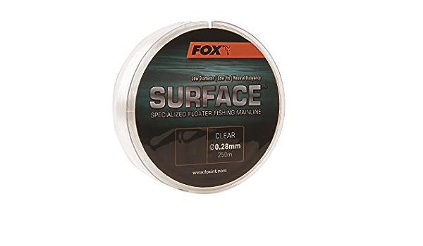 Fox Surface Floater Mainline 250 M Mono Ligne Toutes Tailles