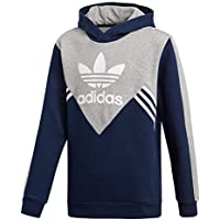 Adidas J M FL Sudadera, Niños, Azul (Maruni/brgrin / Blanco), 152 (11/12 años)