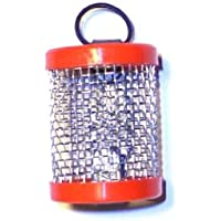 Drahtfutterkorb mit Kunststoffabschluß und Gummiring 30g