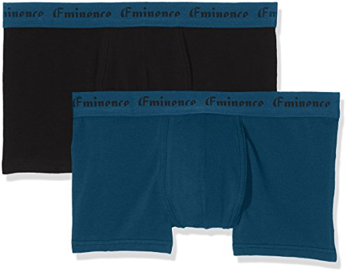 Eminence Herren Badehose Success, 2er Pack Multicolore (Cobalt/Noir 0820)