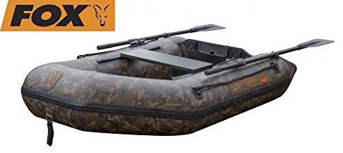 Fox FX200 Camo Schlauchboot 200cm Hard back slat floor, Angelboot, Schlauch Boot zum Angeln, Boot für Angler, Tarnfarbe