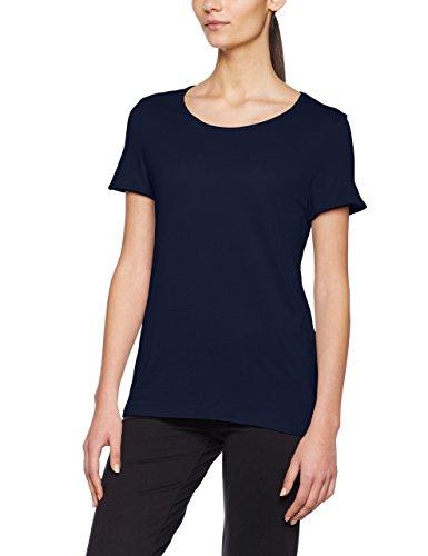 Noisy may Damen T-Shirt Nmcrips S/S Top Blau (Navy Blazer)