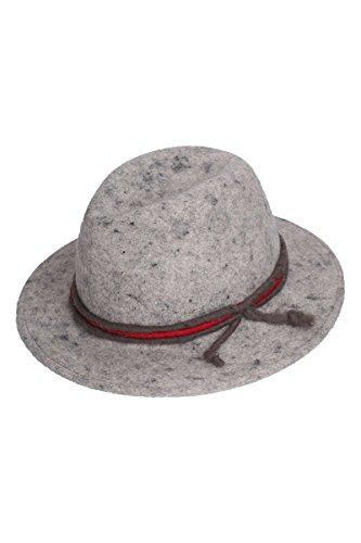 Herren Faustmann Hüte Trachtenhut mit Kordel grau, grau, 60