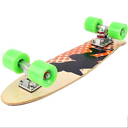 Zoom IMG-1 funtomia skateboard mini cruiser 57cm