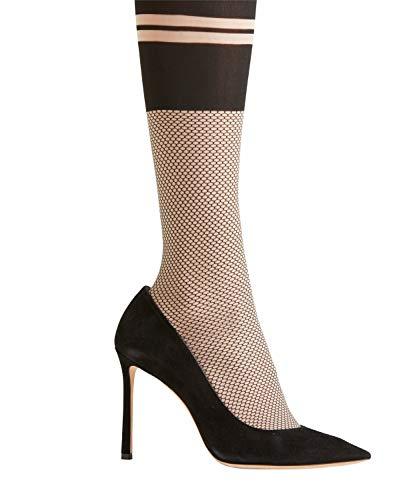 FALKE Damen Strumpfhosen Tie Break, , 1 Stück, Schwarz (Black/Walnut 3503), Größe: S-M - 3
