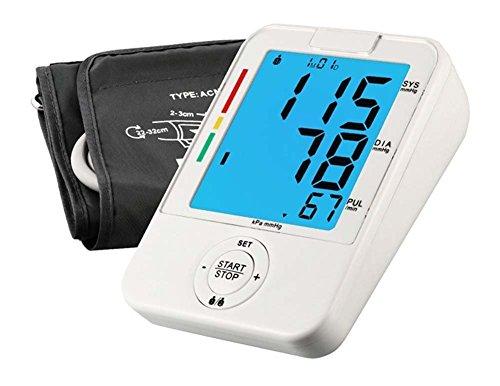 wenrityent Sphygmomanometer del Brazo Home Intelligent LCD Monitor Sphygmomanometer Sphygmomanometer de la OMS (Tamaño: 22-42)