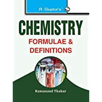 Chemistry Formulae & Definitions