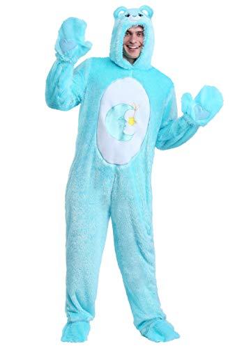 Care Bears Adult Klassisches Bett Time Bear Kostüm - M