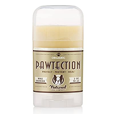 Natural Perro Empresa | pawtection | para la protección de Perros Paw Almohadillas | orgánico, Vegano | 2oz Stick por Natural Dog Company