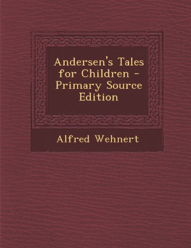 Andersen's Tales for Children