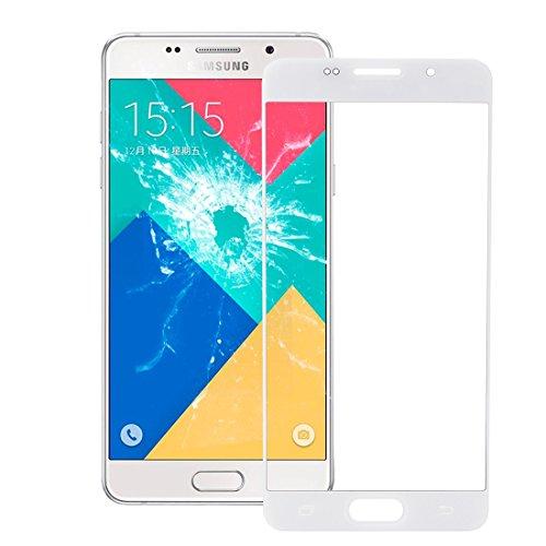 Samsung Galaxy A3 (2016) / A310 (Weiß) Front-Glas Glass Display-glas Screen Ersatzdisplay Display Frontglas mit Rahmen in Weiss