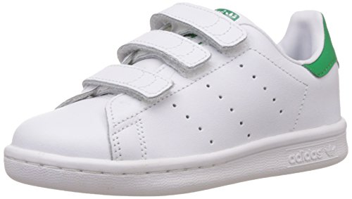 big sale 6f8a1 fee52 adidas Originals Stan Smith CF, Unisex-Kinder Sneakers, Weiß (Ftwr White