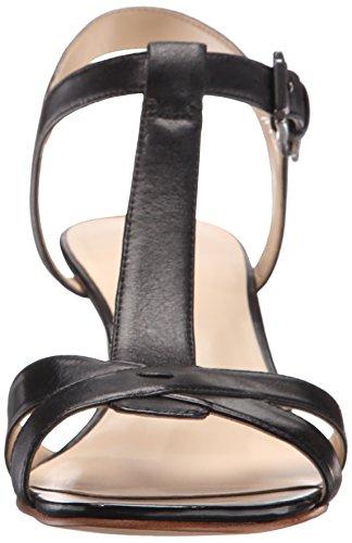 Nine West Geralda cuir Wedge Sandal Black
